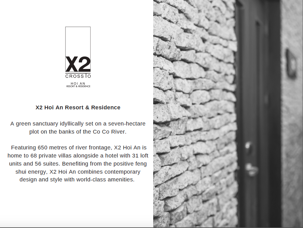 X2 Hoi An Resort & Residence